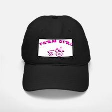 Pink Farm girl Baseball Hat