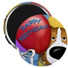 CollieBDayCard Magnet
