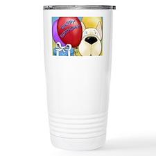 FrenchieBDayCard Travel Mug