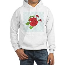 dots a geranium coaster Hoodie