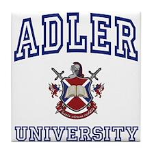 ADLER University Tile Coaster