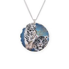 White Tigers _pillow Necklace