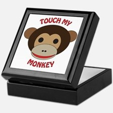 Touch My Monkey Keepsake Box