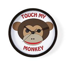 Touch My Monkey Wall Clock