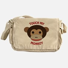 Touch My Monkey Messenger Bag