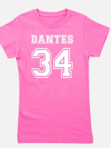 Dantes_34_back_blk Girl's Tee
