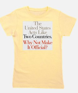 Two_Countries Girl's Tee