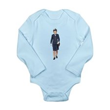 Woman Naval Officer Body Suit
