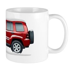 2010 2011 Jeep Liberty Snow Covered Mug