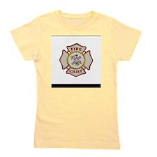 Fire Chief Firefighting Girl's Tee