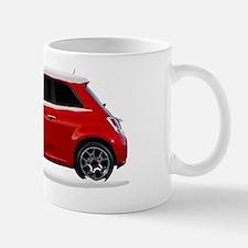 2011 2012 Fiat 500 Snow Covered Mug