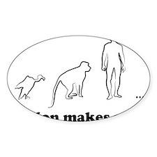 makes evolution Decal
