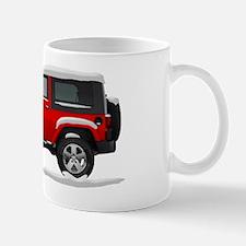 2010 2011 Jeep Wrangler Snow Covered Mug