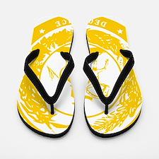 CSAyellowseal Flip Flops