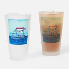 Pontoon Lagoon Drinking Glass
