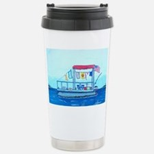 Pontoon Lagoon Travel Mug