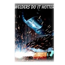 Welders Do It Hotter 50 i Postcards (Package of 8)