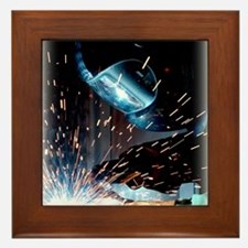 Welders Do It Hotter 50 inches wide x  Framed Tile