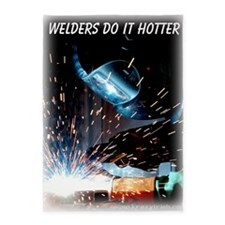 Welders Do It Hotter 50 inches wide 5'x7'Area Rug