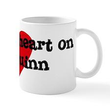 Heart on for Quinn Coffee Mug