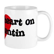 Heart on for Quentin Mug