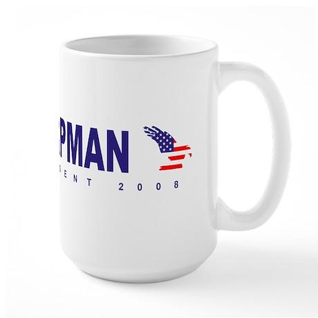 Gene Chapman for president Large Mug