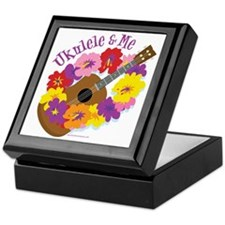 Ukulele and Me Keepsake Box