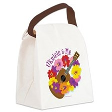 Ukulele and Me Canvas Lunch Bag