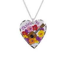 Ukulele and Me Necklace Heart Charm