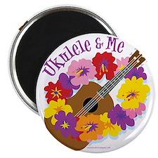 Ukulele and Me Magnet