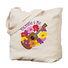 Ukulele and Me Tote Bag
