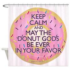 The Donut Gods Shower Curtain