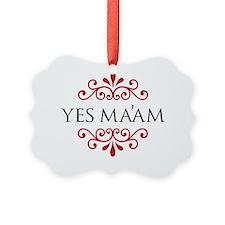 yesmaam Ornament