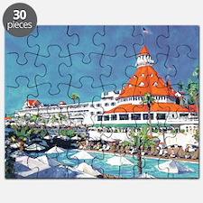 Hotel Del Coronado by RD Riccoboni Puzzle