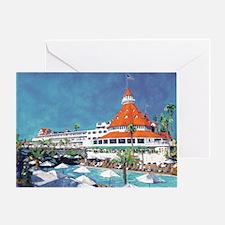 Hotel Del Coronado by RD Riccoboni Greeting Card