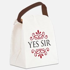 yessir Canvas Lunch Bag