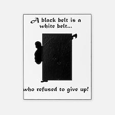 Black Belt Refusal Black Picture Frame