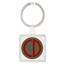 85th Infantry Division Square Keychain