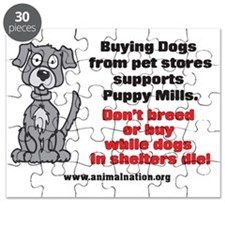 Puppy Mills Support Pet Stores Puzzle