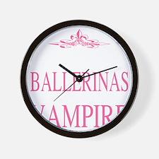 BALLERINAS2 Wall Clock