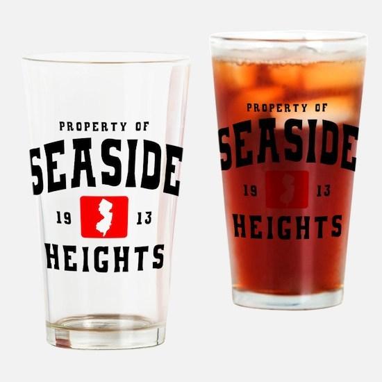 Seaside 1913 b Drinking Glass