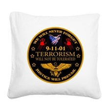 Justice Will Prevail Square Canvas Pillow