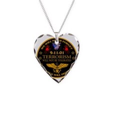 Justice Will Prevail Necklace Heart Charm