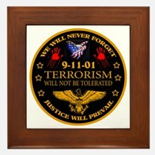 Justice Will Prevail Framed Tile
