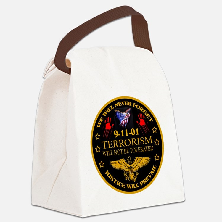 Justice Will Prevail Canvas Lunch Bag