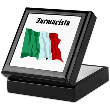 Pharmacist (Italy) Keepsake Box