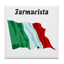 Pharmacist (Italy) Tile Coaster