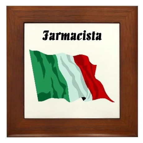 Pharmacist (Italy) Framed Tile