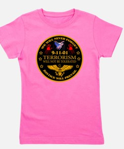 Justice Will Prevail Girl's Tee