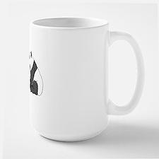 Panda post Card Mug